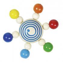 Heimess - Hochet  toupie de perles