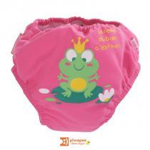 Piwapee - Maillot de bain - couche, collection Rainette, coloris rose bonb