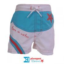 Piwapee - Short de bain garçon, collection Etoile de mer