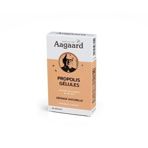 Aagaard Propolis - Gélules Propolis + Zinc Défense Naturelle2 - 30 gélules