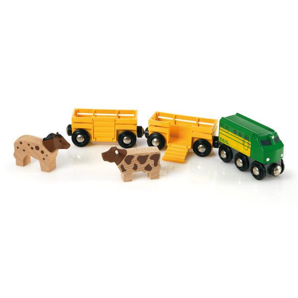 Brio - 33404 Tren de animales de la granja