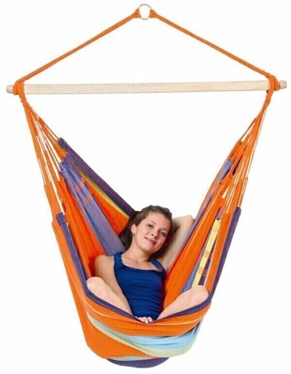 fauteuil suspendu bogota mandarina amazonas acheter sur. Black Bedroom Furniture Sets. Home Design Ideas