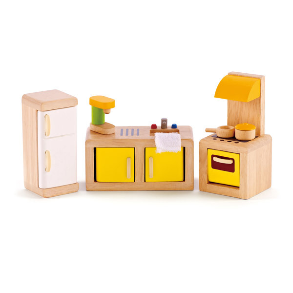 Hape - Happy Family E3453 Kitchen Playset