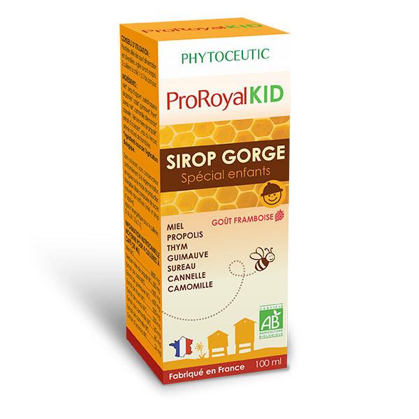 ProRoyal BIO - Sirop pour la gorge bio à la propolis Spécial Enfant x 100mL