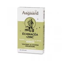 Aagaard Propolis - Pastilles pour la gorge Propolis, Echinacéa et Zinc x30
