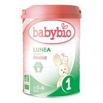Babybio - Lot 6 boites Lunea 1 Lait Nourisson BIO 0-6 mois