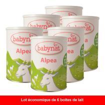 >Voir le rayon Préparation lait de chèvre bébé