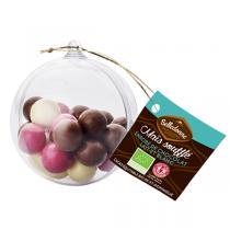 Belledonne - Boule de Noël remplie de chocolats 70g
