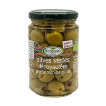 Biorganica Nuova - Olives vertes dénoyautées aux herbes - 280g