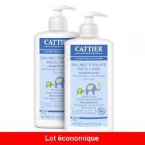 Cattier - Reinigungswasser Baby 2 x 500ml