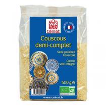 Celnat - Couscous demi-complet bio - 500g