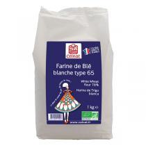 Celnat - Farine de blé Blanche T65 bio - 1kg