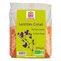 Celnat - Lentilles corail bio - 500g