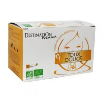 Destination - Kräutertee Toux Douce BIO 20 Beutel mit 1,5 g