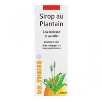 Dr. Theiss Naturwaren - Sirop au plantain 250ml