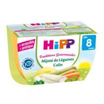 HiPP - Bol Mijoté de Légumes Colin dès 8 mois 190g