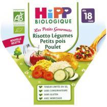Hipp - Risotto Légumes Petits Pois Poulet dès 18 mois 260g