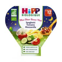 HiPP - 1 assiette Spaghetti Tomates Mozzarella dès 12 mois 230g