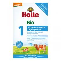 Holle - Pack de 10 x Lait pour nourrissons Bio 1er âge 400g
