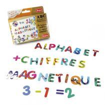 Jeujura - Magnetic Number & Alphabet Set - 76 pieces