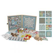 Jeujura - Spielekoffer mit 150 klassischen Spielen