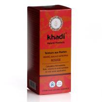 Khadi - Coloration végétale Henné, Amla et Jatropha Rouge