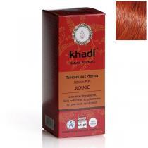 Khadi - Teinture aux plantes Henné Pur rouge - 100g
