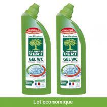 L'Arbre Vert - Lot de 2 Gels WC écologique au Romarin