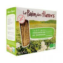 Le pain des fleurs - Lot de 3 paquets tartine craquante au sarrasin 150g