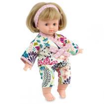 Petitcollin - Ecolo Doll Colinette 632623  Dodo in Kyoto  - Doll 25 cm