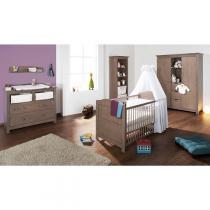 Pinolino - Chambre bébé 3 pièces Jelka Taupe