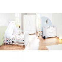 Pinolino - Chambre bébé 3 pièces Puro - Blanc
