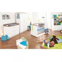 Pinolino - Chambre bébé 3 pièces Tuula Blanc
