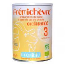 Prémibio - Lot de 3 x PrémiChèvre Croissance 12-36 mois