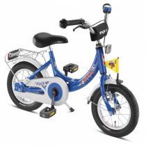 Puky - Vélo Enfant ZL 12  Cadre Alu - Bleu Football - Dès 3 ans