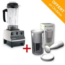 Vitamix - Pack mixeur Blender Vitamix 5200 Inox + kit lait Chufamix