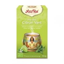 Yogi Tea - Infusion Exotique Menthe Citron Vert x 17 Sachets