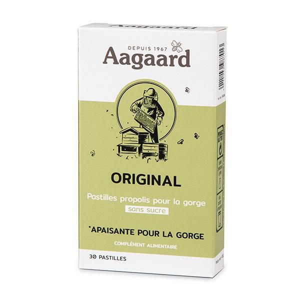 Aagaard Propolis - Pastilles pour la gorge à la Propolis Original x30