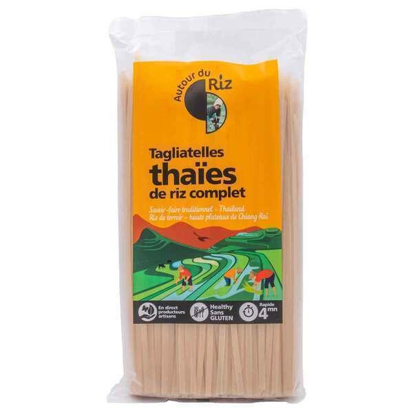 Autour du Riz - Tagliatelles thaïes de riz complet 400g