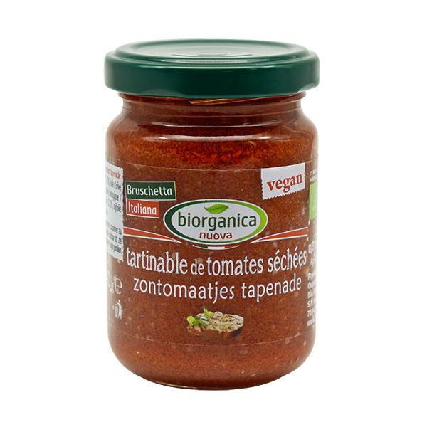 Biorganica Nuova - Tartinable de tomates séchées - 140g
