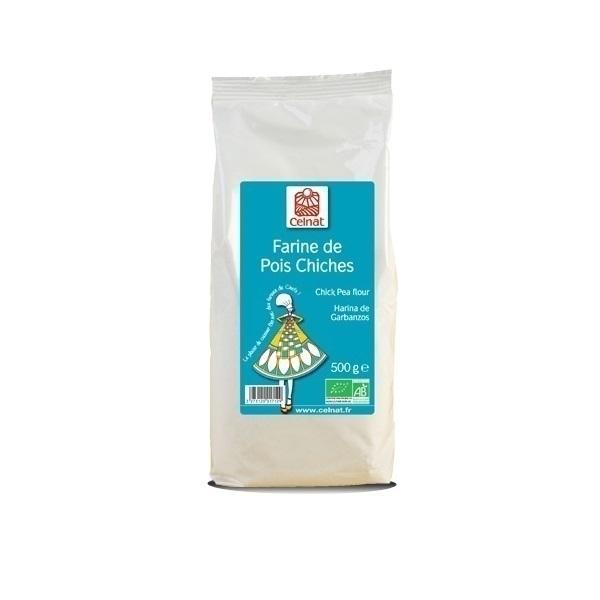 Celnat - Farine de pois chiches bio - 500g