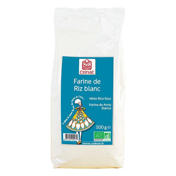 Celnat - Farine de riz blanc bio - 500g