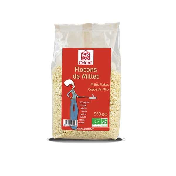 Celnat - Flocons de millet bio - 350g