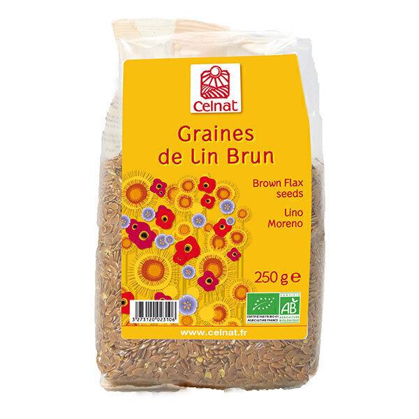 Celnat - Graines de lin brun bio - 250g