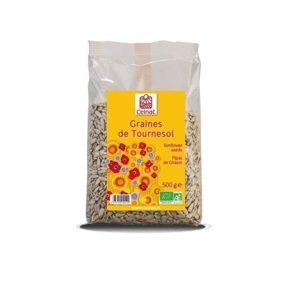 Celnat - Graines de tournesol Bio 500g