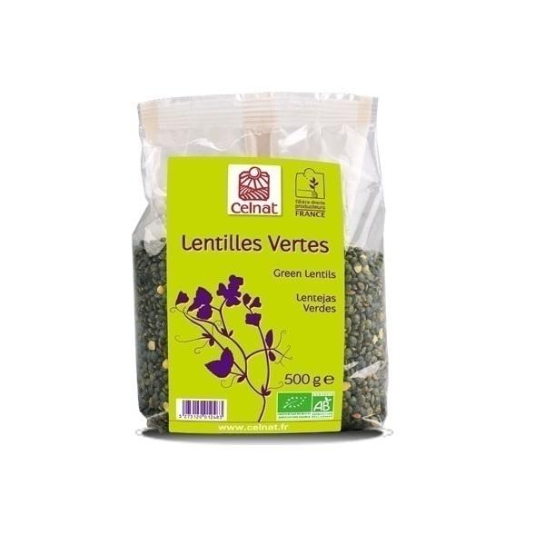 Celnat - Lentilles vertes 500g