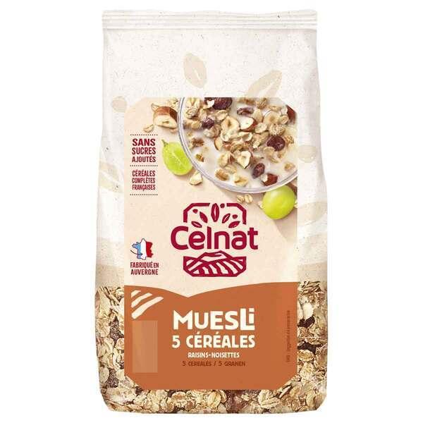 Celnat - Muesli 5 céréales - 500g