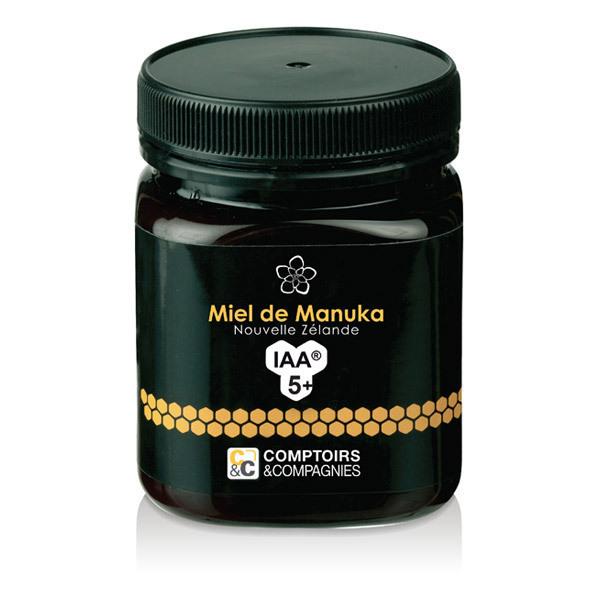 Comptoirs et Compagnies - Miel de Manuka IAA5+ (MGO 83) - Pot de 250g