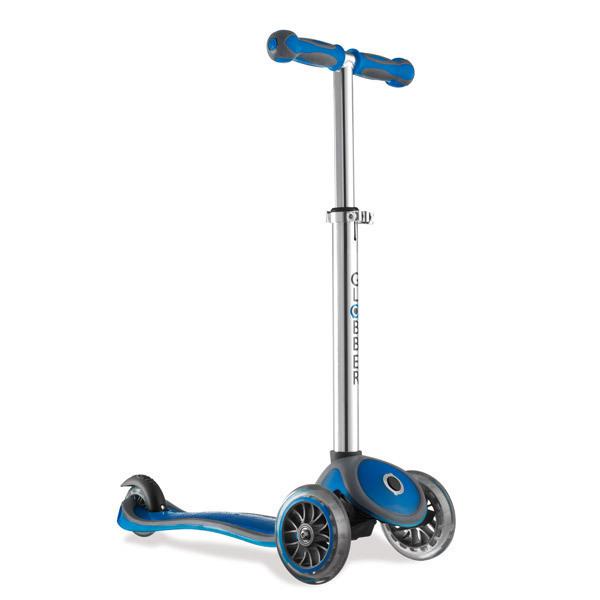 trottinette 3 roues primo plus bleu globber acheter sur. Black Bedroom Furniture Sets. Home Design Ideas