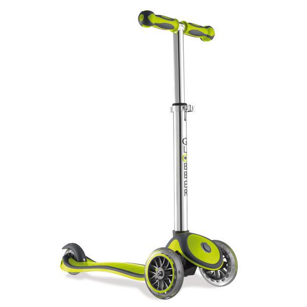 Globber - 3-Wheel My Free Junior Scooter Green